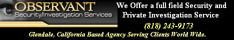Glendale, California Private Investigation Services