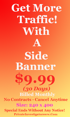 Side Banner ($29.95 - One Time Fee)