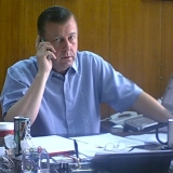 Mr. Williams at Work - The Principal, Mr. Williams, is active on a day to day basis within his company, OSI.