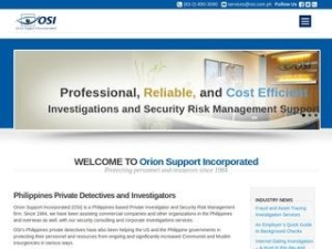 Orion Support Incorporated (OSI)